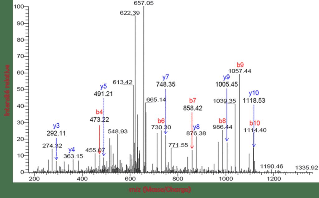 mass spectra